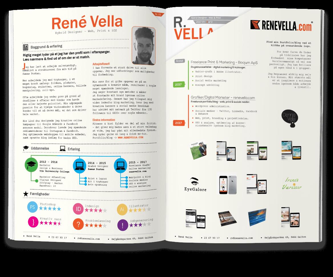 René Vella - Ansøgning