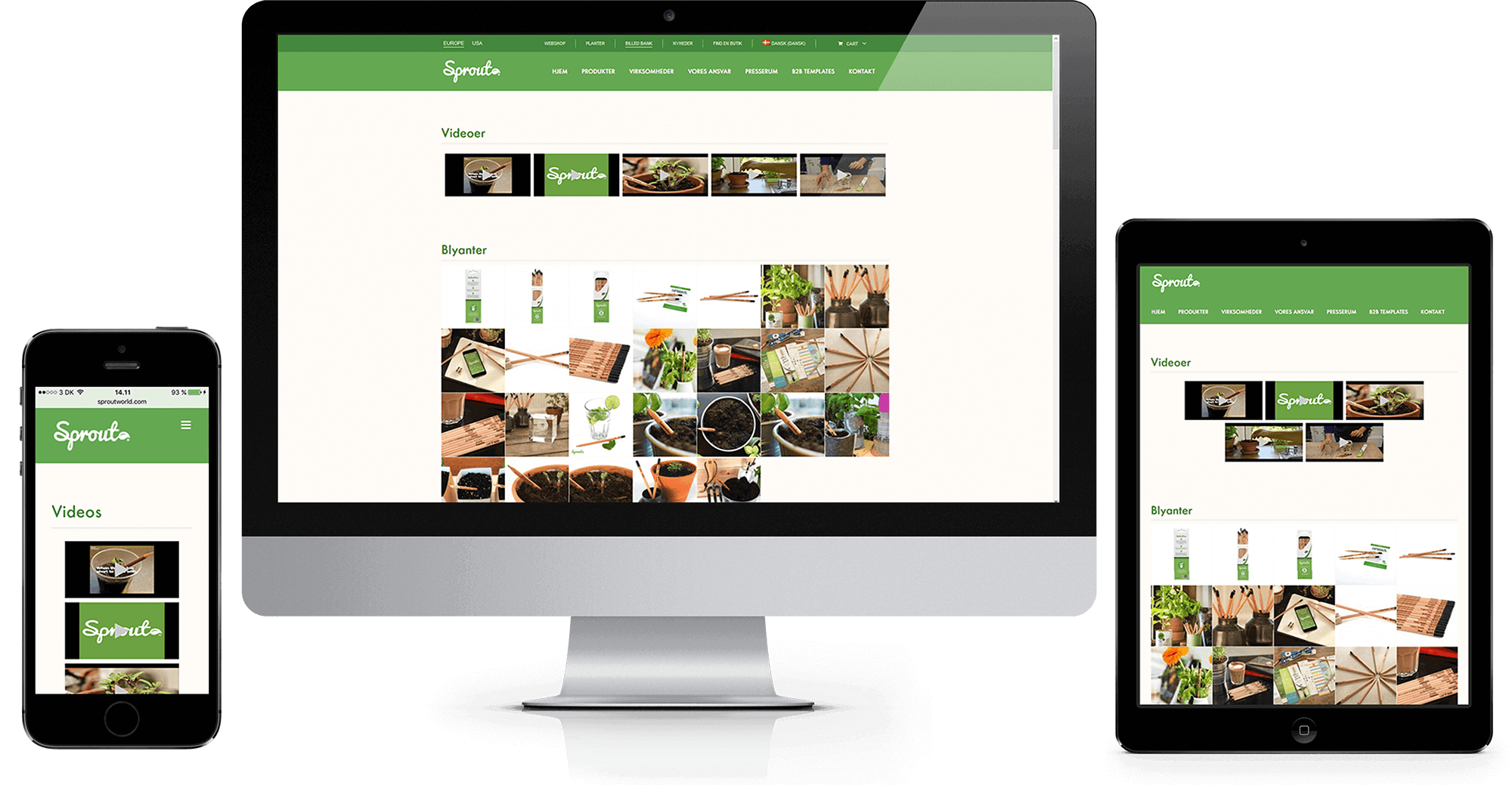 Sprout World WordPress Webshop