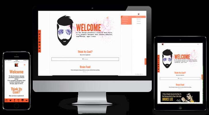 René Vella: Freelance grafisk designer, web, print & iOS