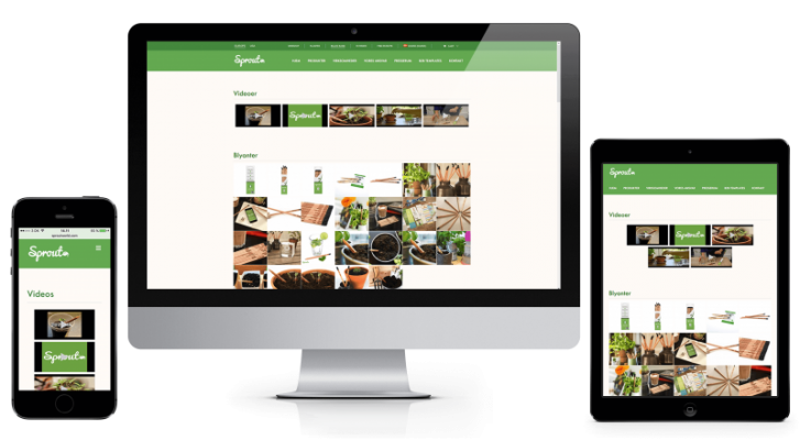 Sprout World: WordPress WooCommerce webshop & mobil responsivitet