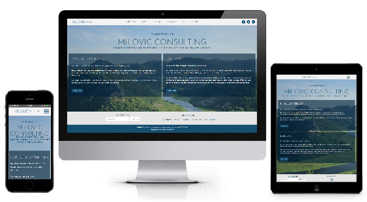 Milovic Consulting: WordPress blog & inspirations side