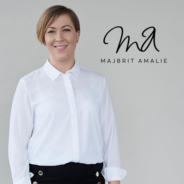 hjemmeside Majbritt Amalie Web Design